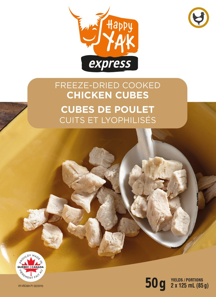 Happy Yak Freeze Dried Cooked Chicken Cubes (50g)