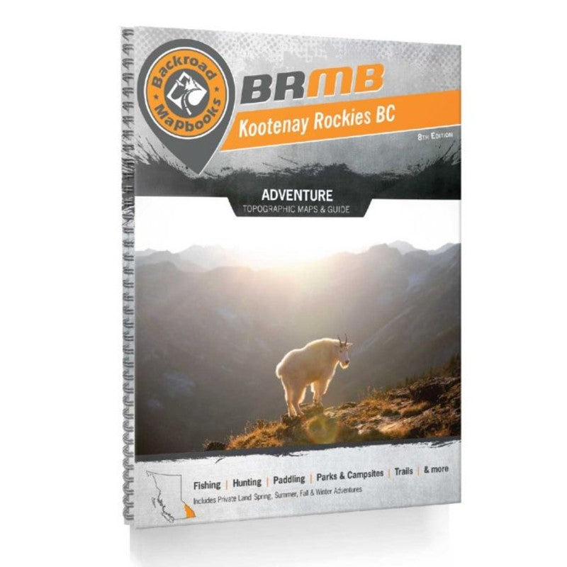 Backroad Mapbook: Kootenays, 8th Edition