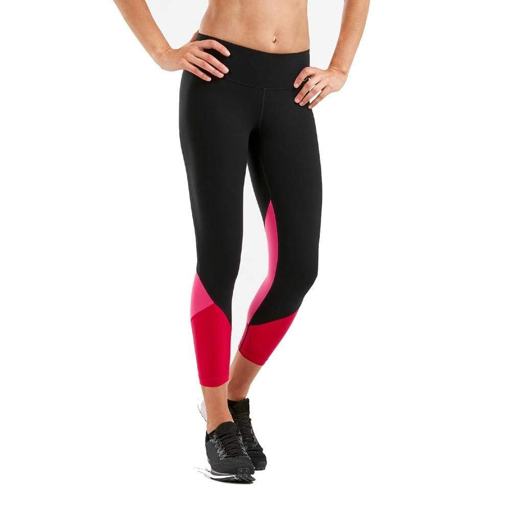 Women's Fitness Splice Compression 7/8 Tights