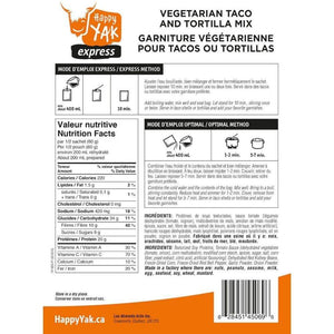 Tacos & Tortillas Vegetarian Mix