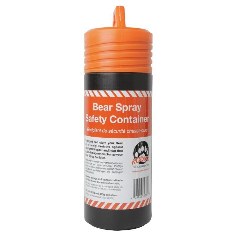 Bear Spray Safety Container