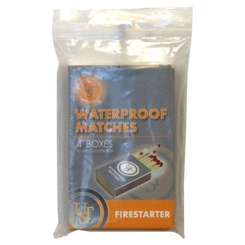 Waterproof Matches 4pk