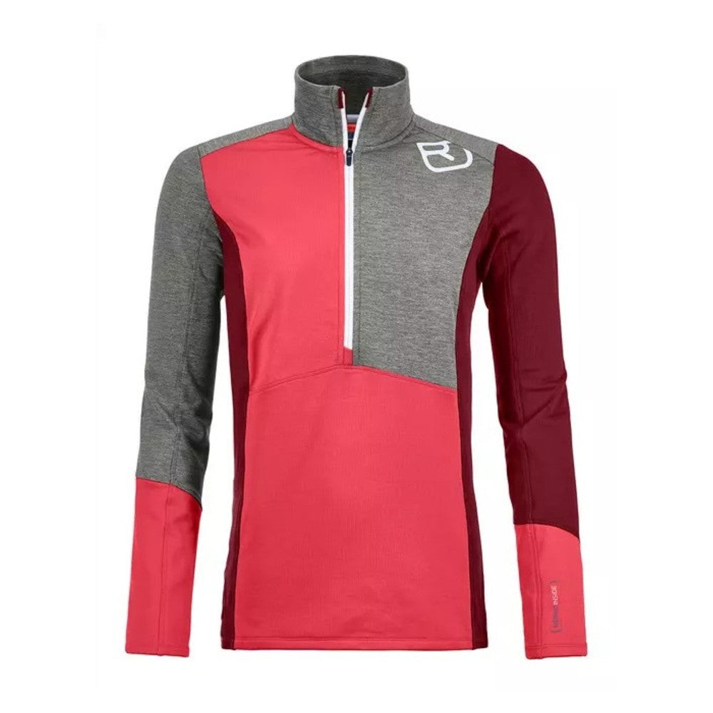 Fleece Light Zip Neck, Women's