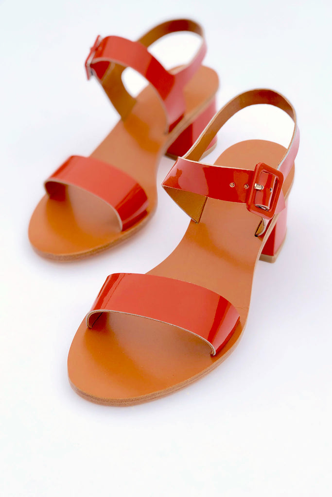 LOQ - Altea Sandal in Safron in Sizes 35-37 at STATURE | staturenyc.com