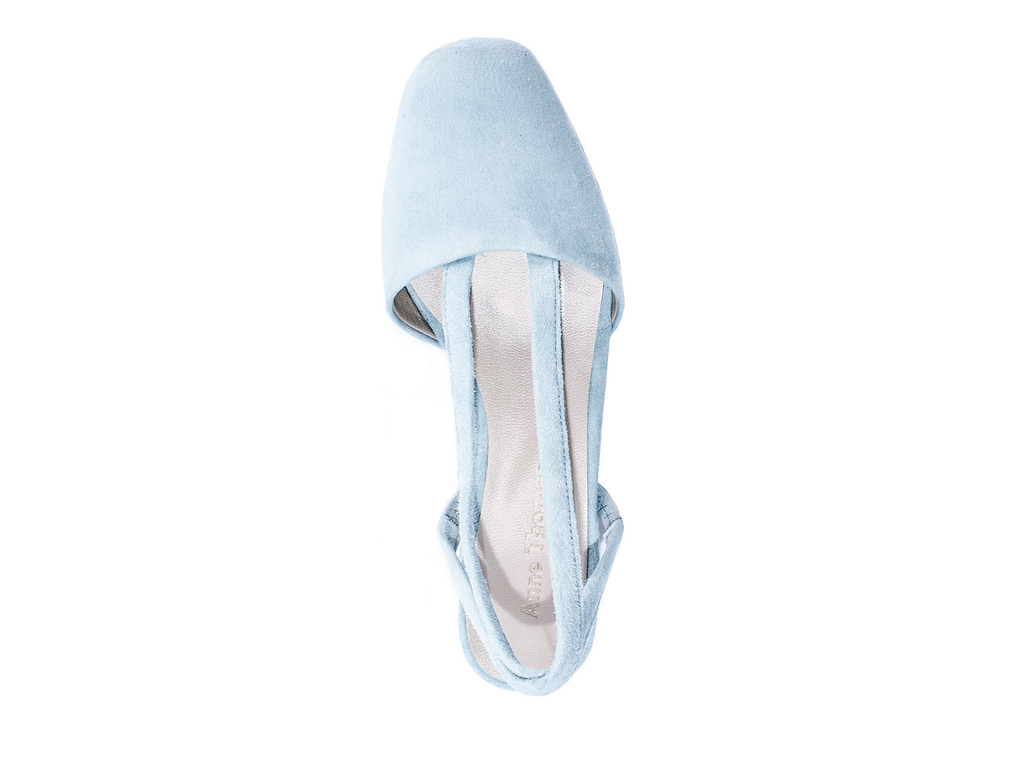 Anne Thomas Olga Shoes Cherubino Pale Blue