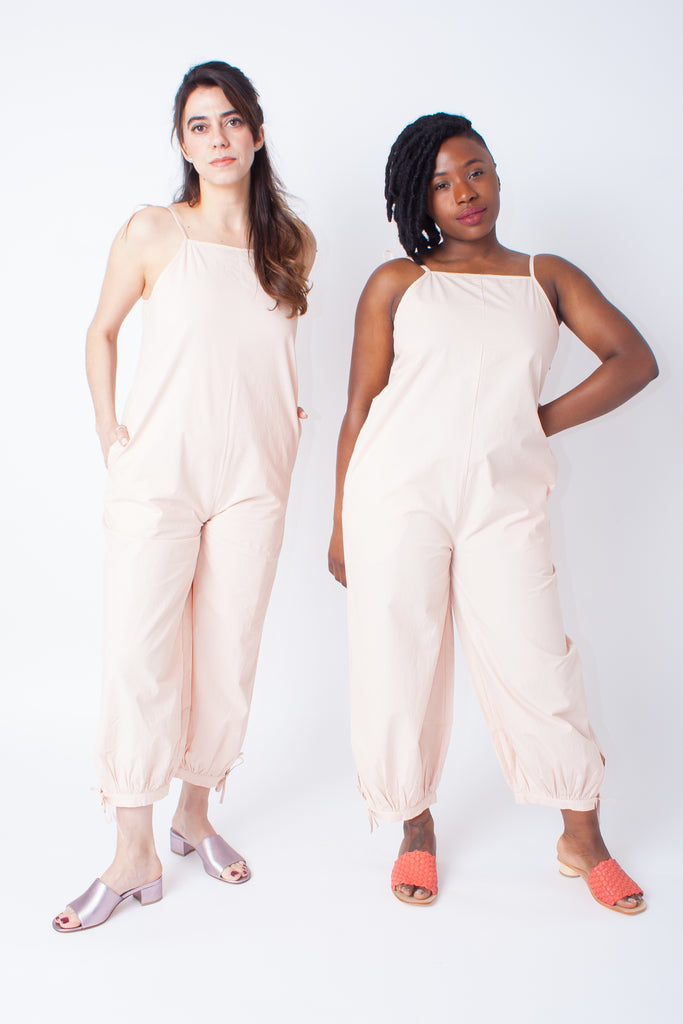 Wray Ferry Jumpsuit (Petite) - Clay Pink