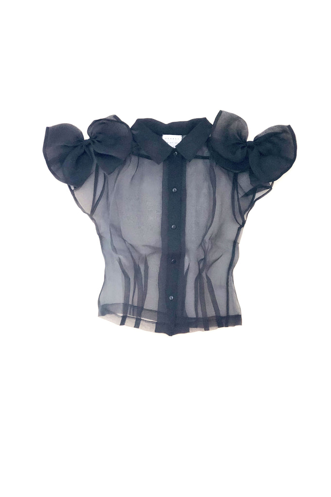 Green Gables Blouse - Black