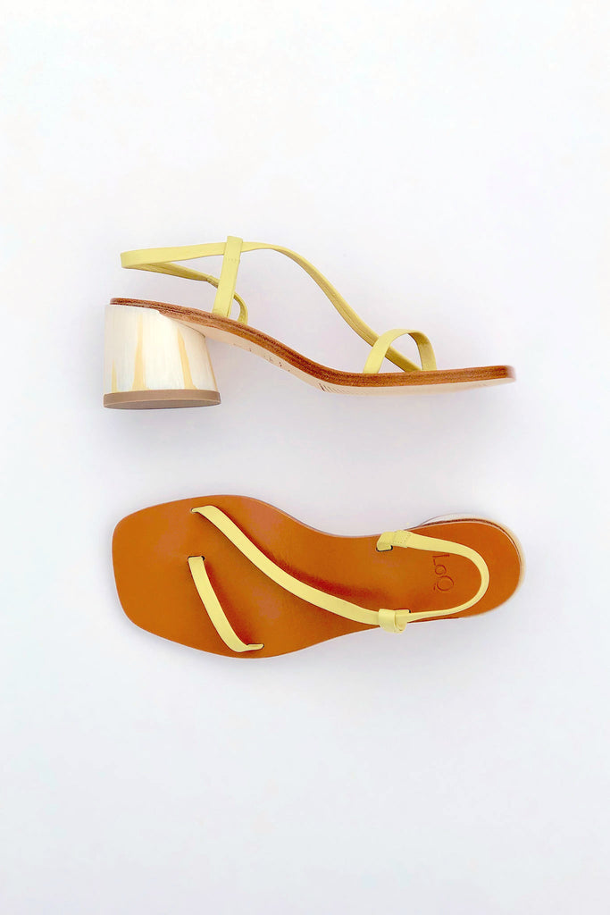 LOQ - Isla Sandal in Pomelo in Sizes 35-37 at STATURE | staturenyc.com