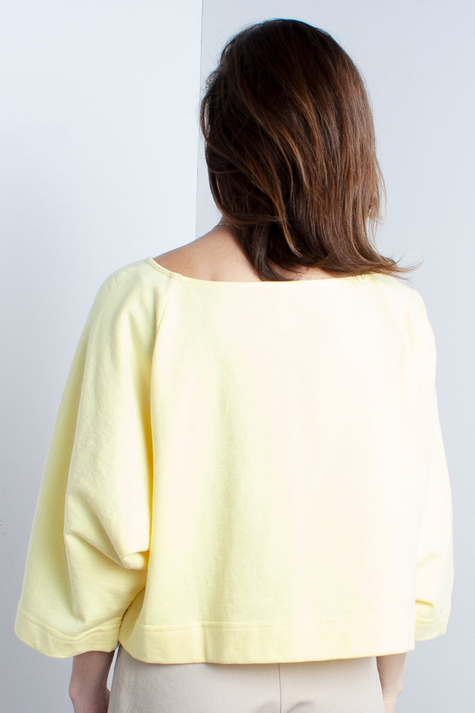Ilana Kohn Moe Crop in Mellow Yellow at STATURE | staturenyc.com
