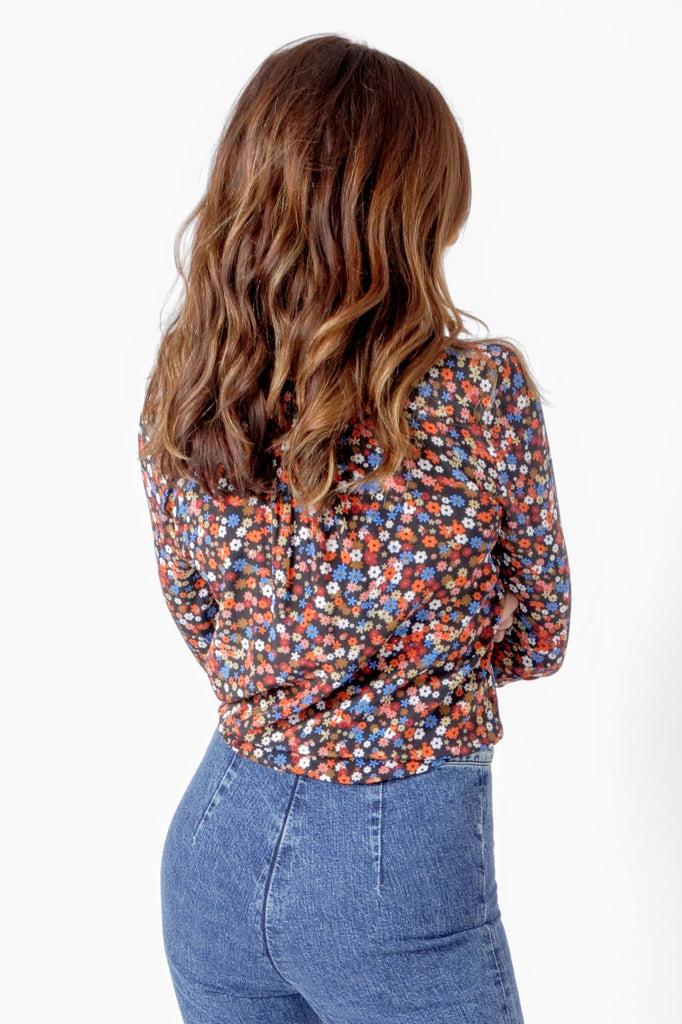 Wray Astral button down in floral print
