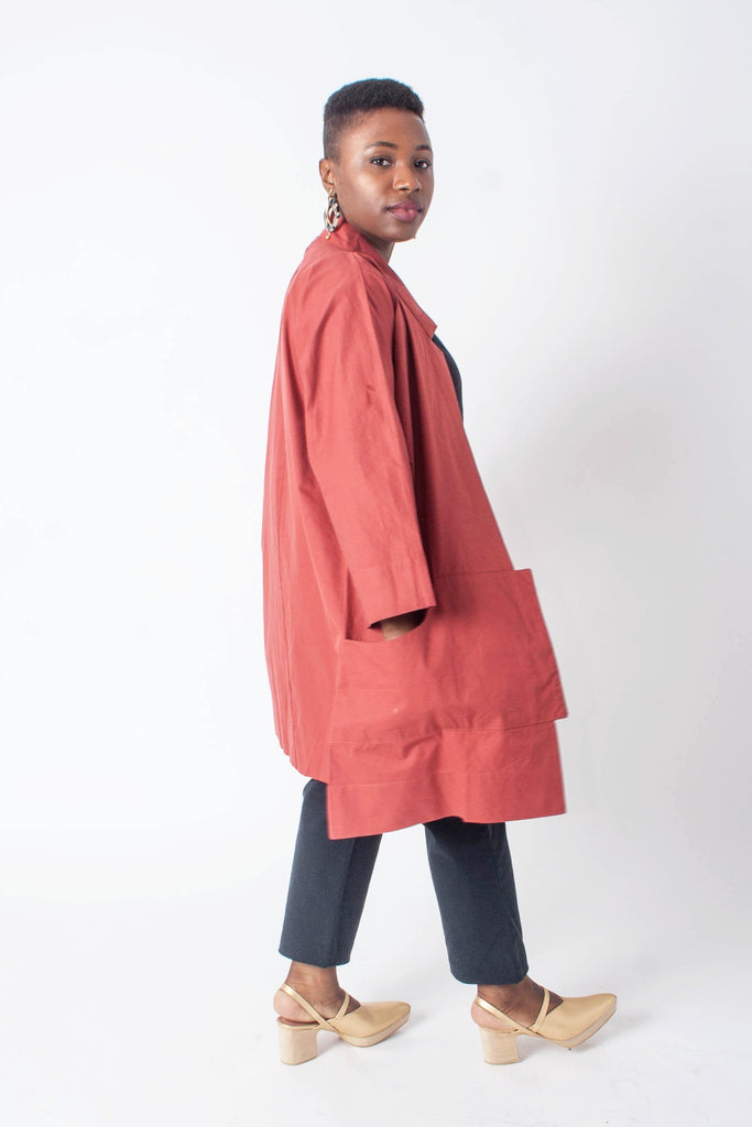 Wray - Port Jacket - Currant Red | Stature