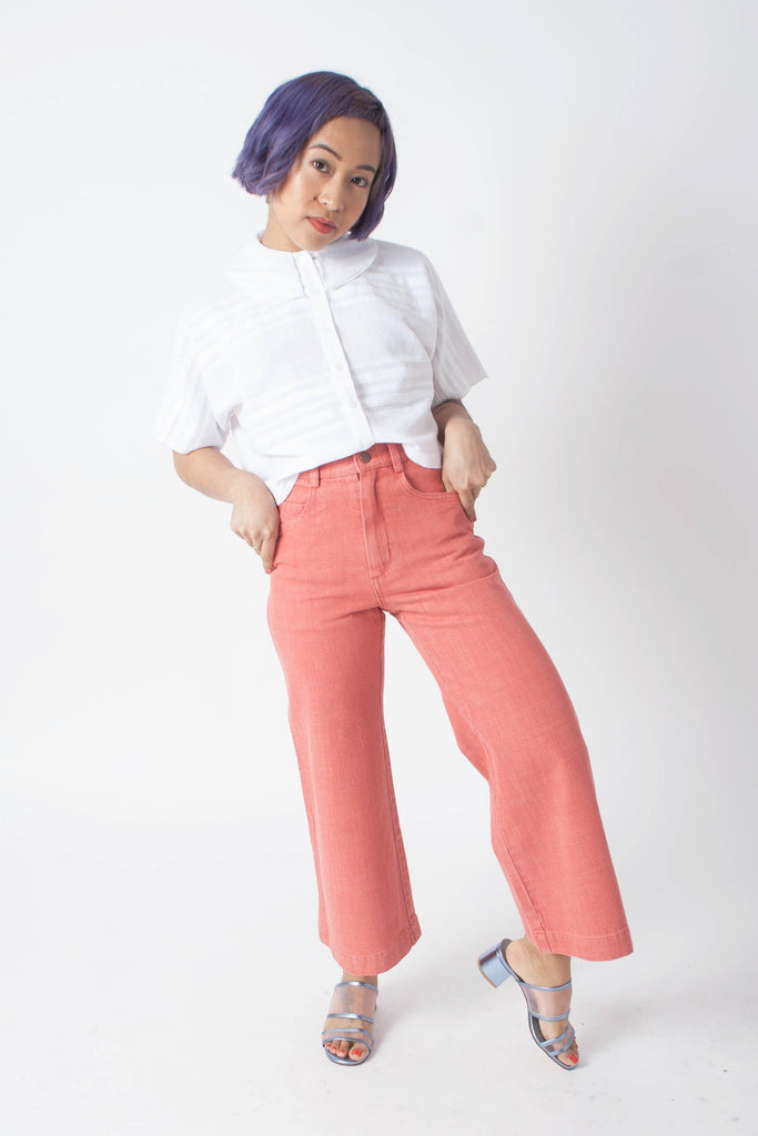 Carleen - Nellie Jeans (Petite) - Red