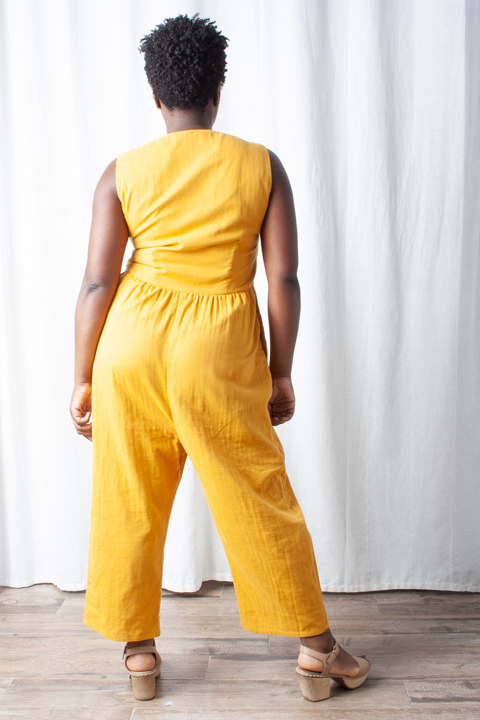 Loup - Lee Jumpsuit (Petite Exclusive) - Canary