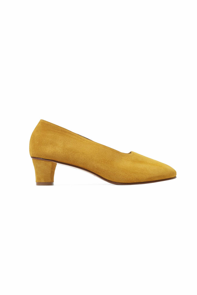 High Glove Shoe - Saffron