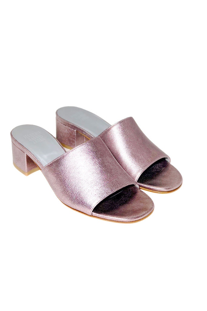 Maryam Nassir Zadeh - Sophie Slide in Pyrite Calf