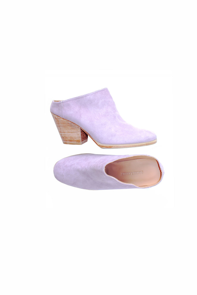 Rachel Comey Lilac Heeled Mars Mule Shoes