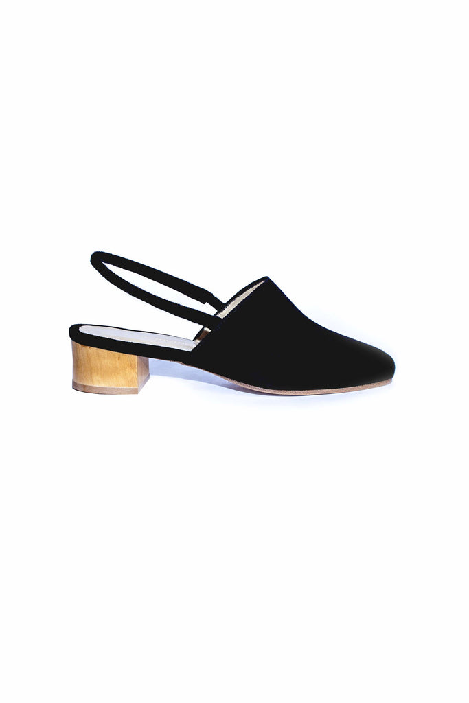 Williamsburg Slingback - Black