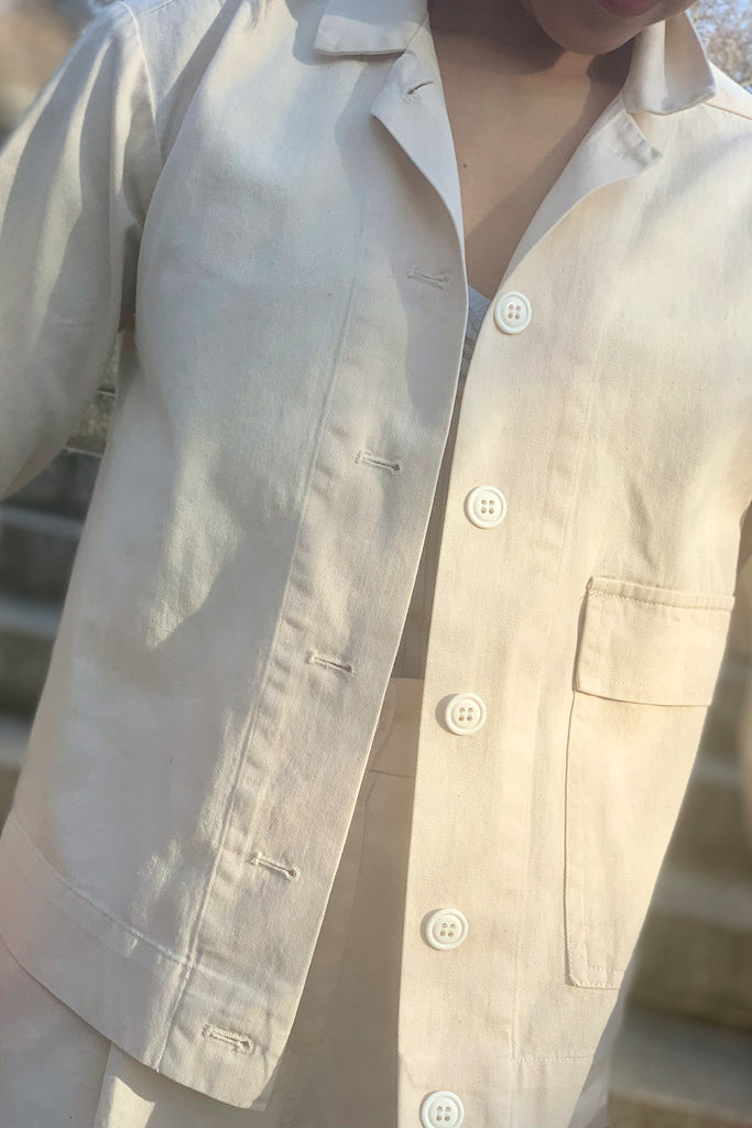 Loup Adams Jacket - Ivory at STATURE | staturenyc.com