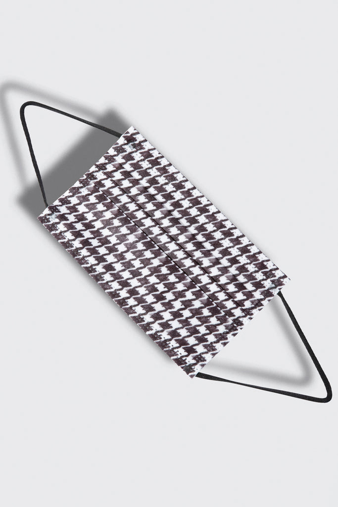 barriere Houndstooth Medical Grade Masks - Kids Size - 10-Pack at STATURE | staturenyc.com