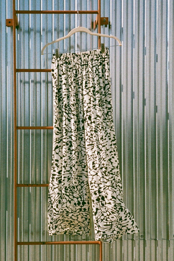 Wray NYC Luna Pant in Graphic Animal at STATURE | staturenyc.com