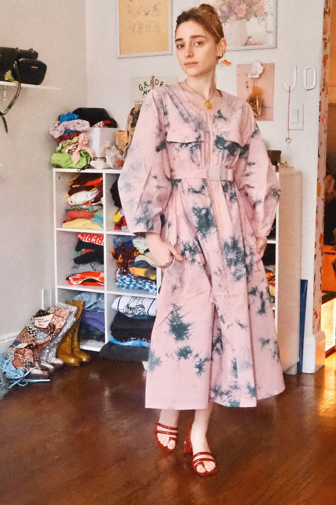 Jo Rosenthal in Rachel Antonoff - Megan Dress - Tie Dye at STATURE | staturenyc.com