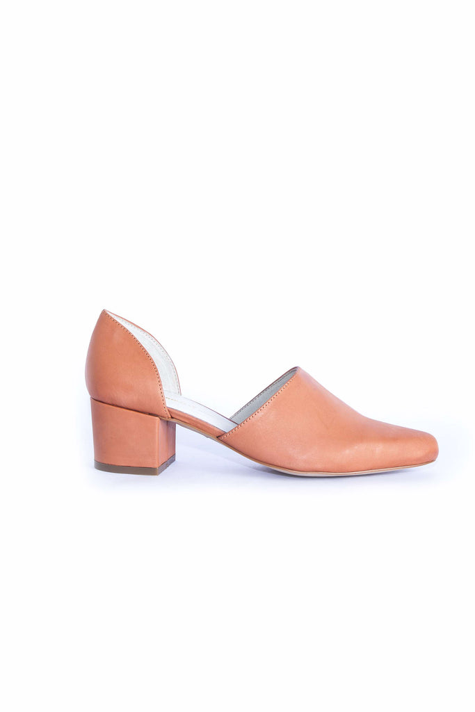 Perf Heel - Orange