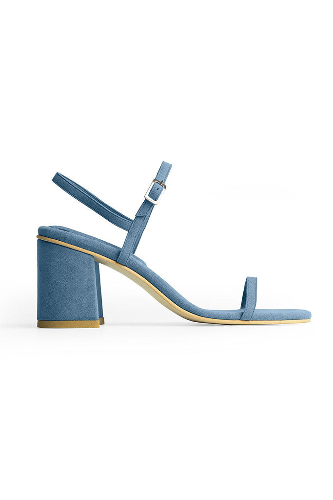Rafa Simple Sandal Made to Order at Stature in sizes 4-7 - Azur