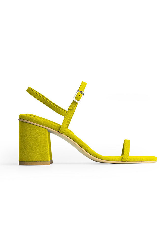 Rafa Simple Sandal Made to Order at Stature in sizes 4-7 - Citrine