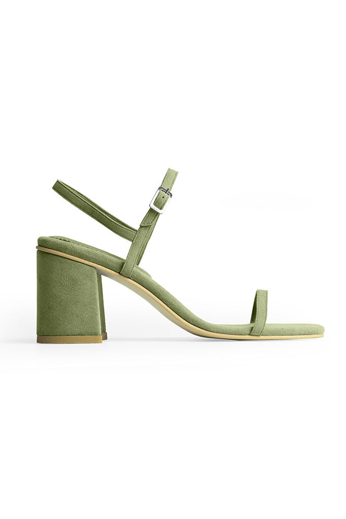 Rafa Simple Sandal Made to Order at Stature in sizes 4-7 - Vert