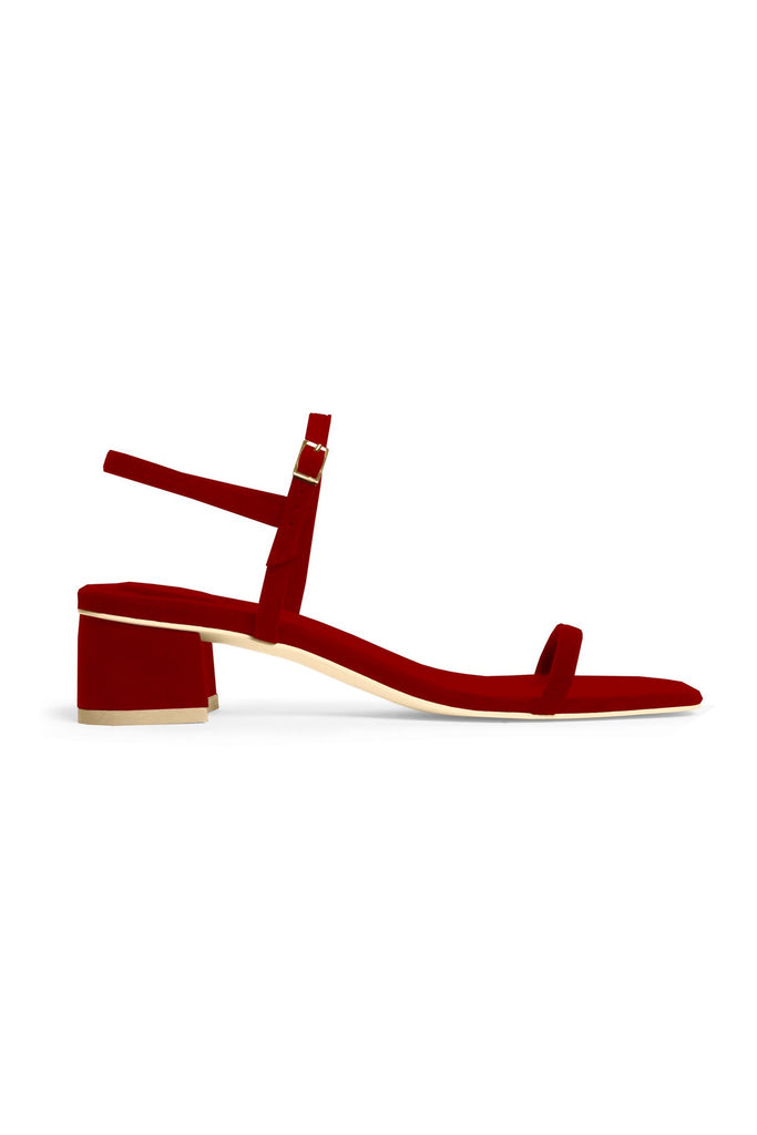 Rafa Milli Sandal Made to Order at Stature in sizes 4-7 - Ruby