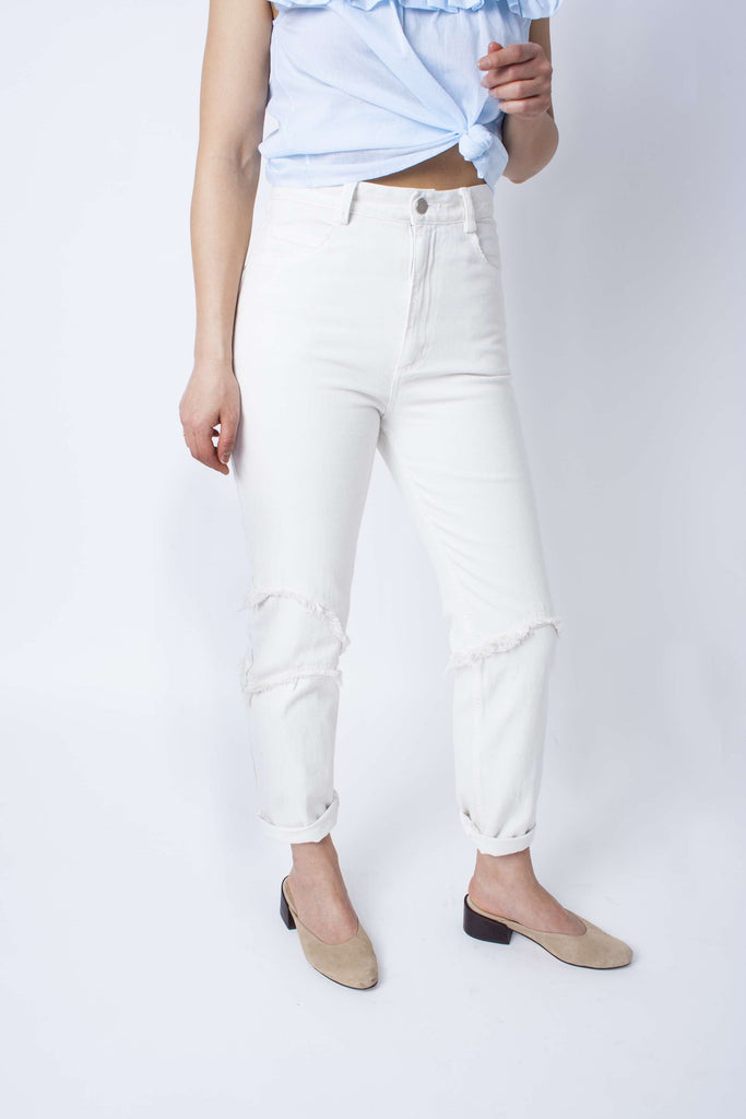 Ticklers Jeans - Dirty White