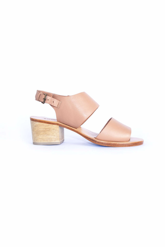 Tulip Sandal - Polished Clay