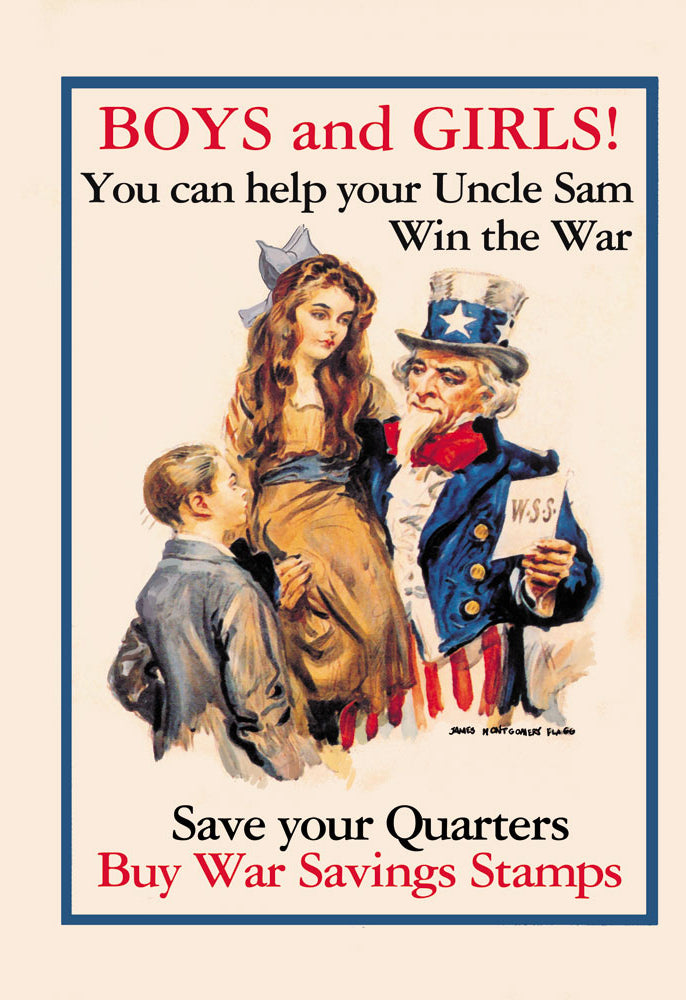 UNCLE SAM - BOYS AND GIRLS!