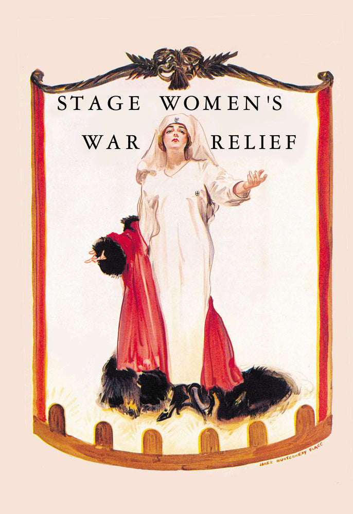 STAGE WOMEN'S WAR RELIEF