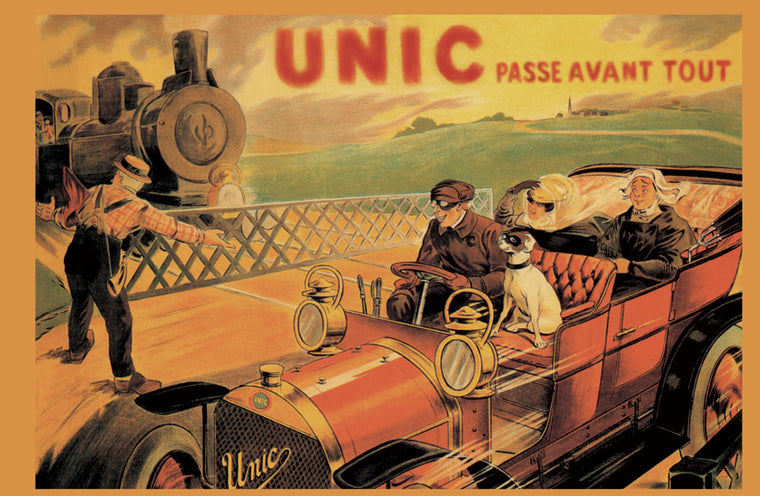 UNIC - RACING ACROSS TRAIN TRACKS