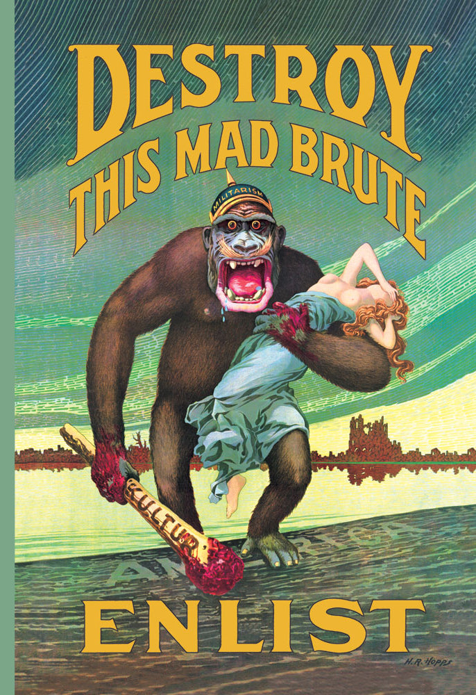 DESTROY THIS MAD BRUTE - ENLIST