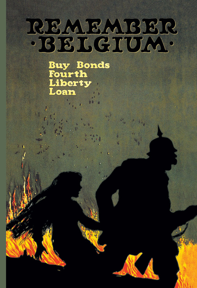 REMEMBER BELGIUM: BUY BONDS - FOURTH LIBERTY LOAN