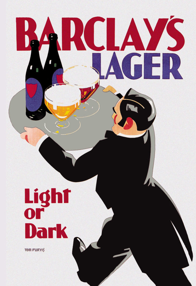 BARCLAY'S LAGER: LIGHT OR DARK