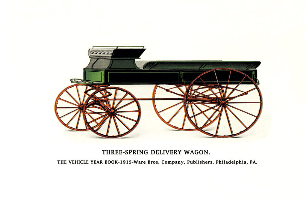 THREE-SPRING DELIVERY WAGON