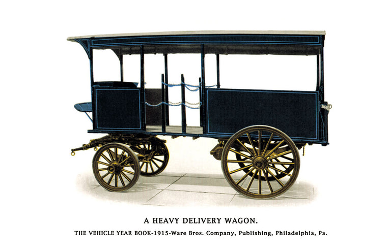 HEAVY DELIVERY WAGON