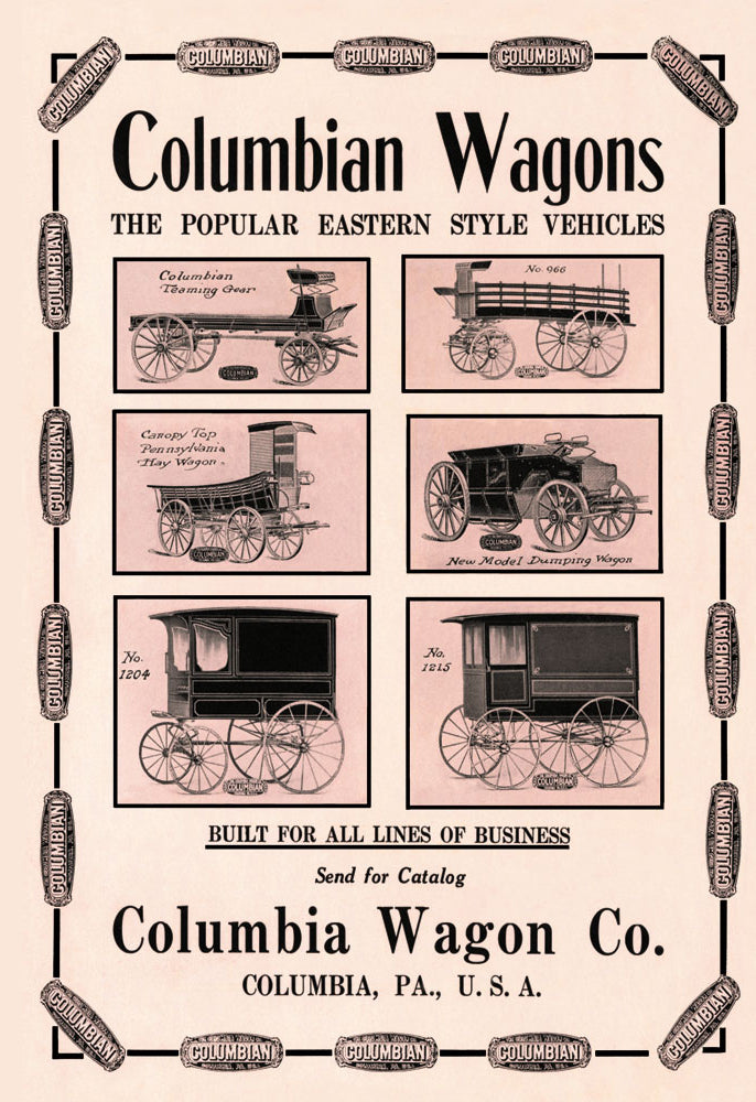 COLUMBIAN WAGONS