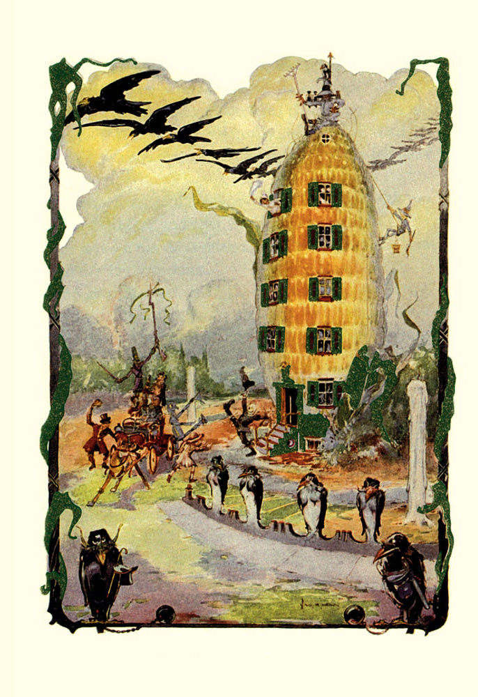 WIZARD OF OZ - JACK PUMPKIN'S HOUSE OF CORN