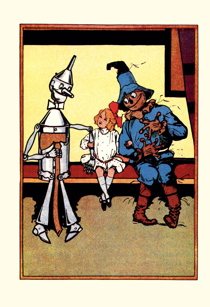 WIZARD OF OZ - TIN MAN, DOROTHY AND SCARECROW