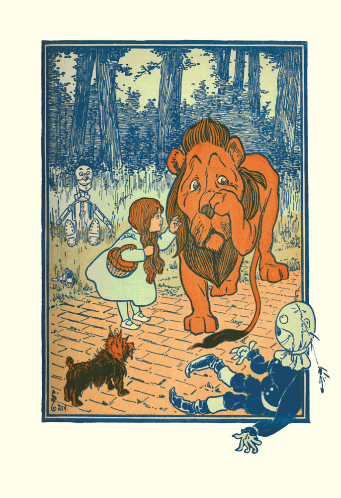 WIZARD OF OZ - THE COWARDLY LION