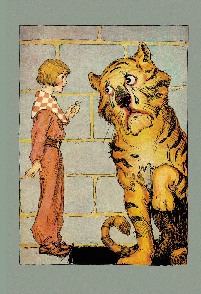 WIZARD OF OZ - HUNGRY TIGER AND LITTLE PRINCE