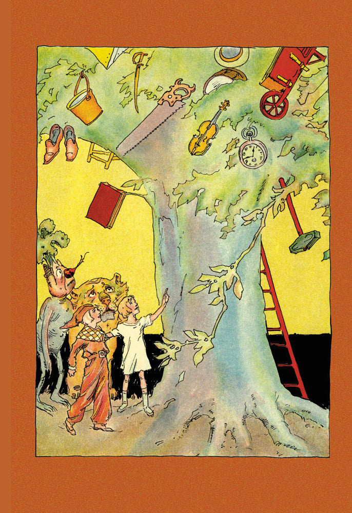WIZARD OF OZ - INDUS TREE WITH COLLECTION OF ARTICLES