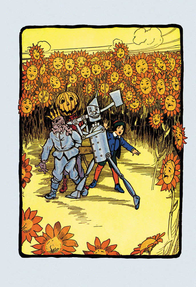WIZARD OF OZ - FIELD OF SUNFLOWERS