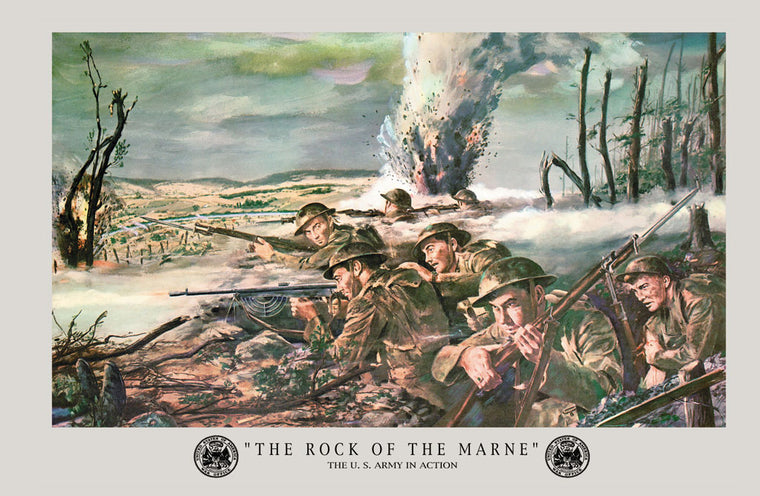 THE ROCK OF THE MARNE