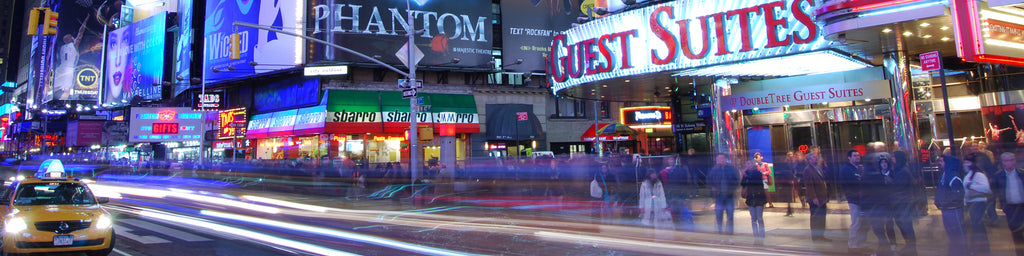 TIMES SQUARE TIME-LAPSE, NYC