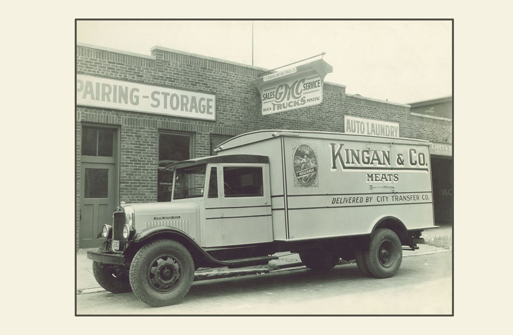 KINGAN'S MEAT TRUCK NO. 1